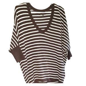 Charcoal & White Stripe - •EXPRESS• | Sweater